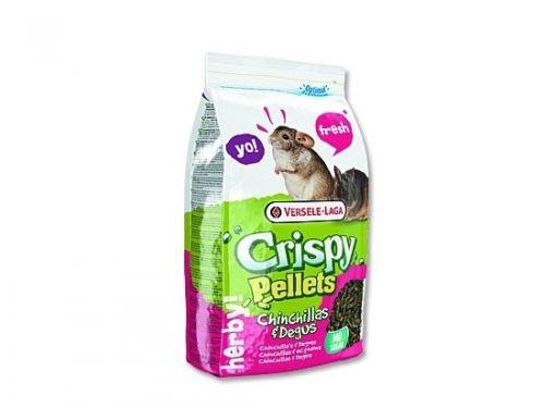 Versele-Laga Crispy Pellets Chinchilas, Degus pro činčily.osmáky 1 kg
