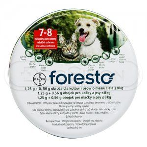 Bayer Foresto 38 cm obojek pro kočky a malé psy
