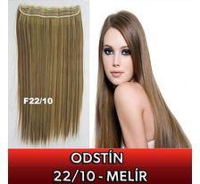 Clip in vlasy - 60 cm dlhý pás vlasov - odtieň 22/10 - melír SVĚTOVÉ ZBOŽÍ