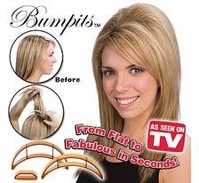 BUMPITS BIG HAPPIE HAIR - vlasové vsuvky - ČIERNA SVĚTOVÉ ZBOŽÍ