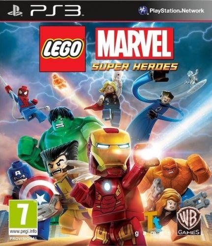 CENEGA LEGO MARVEL SUPER HEROES pre PS 3