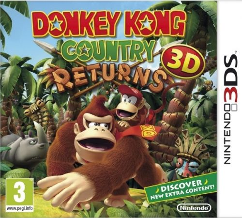 Donkey Kong Contry Returns 3D pre Nintendo 3DS