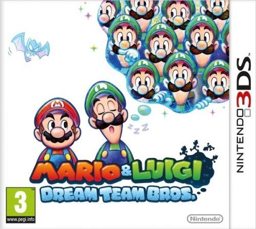 Mario & Luigi: Dream Team Bros. pre NINTENDO 3DS