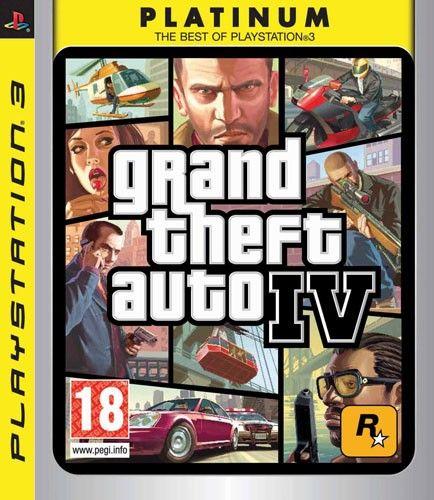 CENEGA GTA 4 PLATINUM pre PS 3 cena od 0,00 €