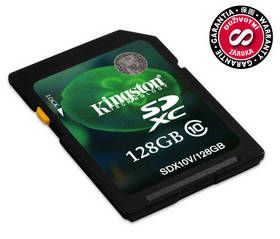 Kingston SDXC 128 GB cena od 118,10 €