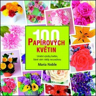 100 papírových květin (Maria Noble) cena od 6,99 €