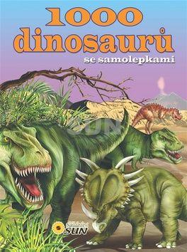 1000 dinosaurů se samolepkami 2v. cena od 0,00 €