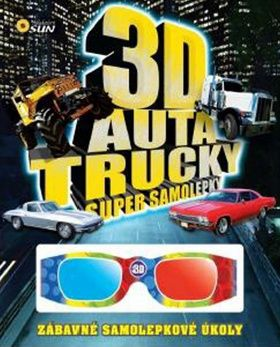 3D Auta, Trucky super samolepky cena od 0,00 €