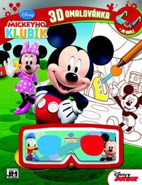 3D OM Mickeyho klubík JM cena od 0,00 €