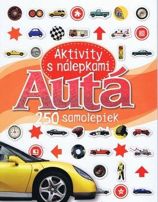 Autá - Aktivity s nálepkami cena od 0,00 €