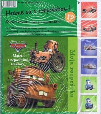 Autá-Mater a neposlušné traktory - Moja rozprávka č. 12 cena od 0,00 €