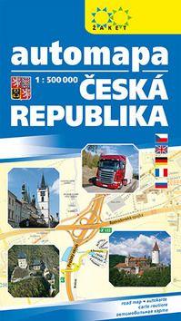 Automapa ČR 1:500T 2013 ŽAKET cena od 0,00 €