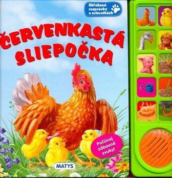 Červenkastá sliepočka - zvuková knižka cena od 0,00 €