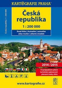 Česko Slovensko autoatlas 20142015 cena od 0,00 €