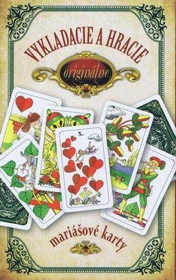 Originálne vykladacie a hracie mariášové karty (Jan Hrubý) cena od 1,72 €