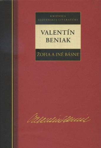 Žofia a iné básne (Valentín Beniak) cena od 9,99 €