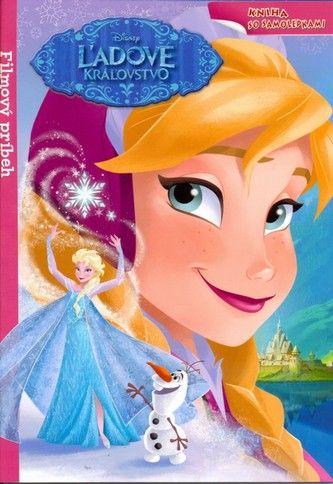 Ľadové kráľovstvo - kniha so samolepkami (Walt Disney) cena od 4,30 €