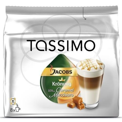 JACOBS JAC CARAMEL LATTE MACCHIATO TASSIMO 16 ks