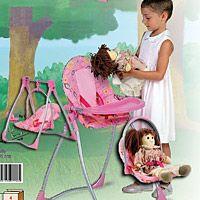 BIEMME stolička,hojdačka a nosič pre bábiku