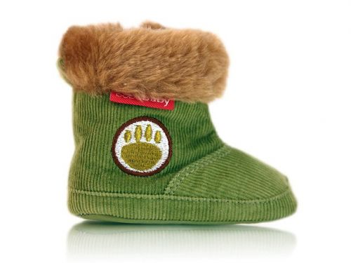 BOBAS Prvé zimné topánočky