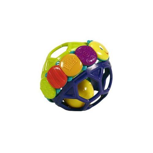 BRIGHT STARTS pružná hrkajúca lopta