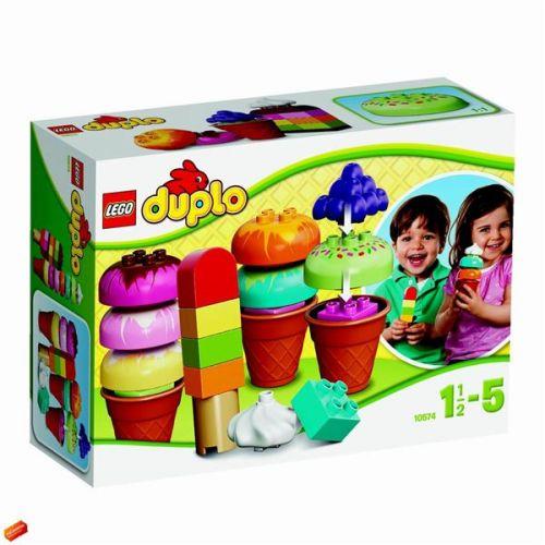 LEGO Duplo kocky Postav si zmrzlinu