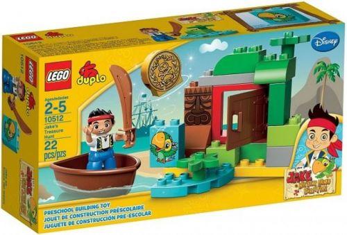LEGO Duplo Jake a hľadanie pokladu