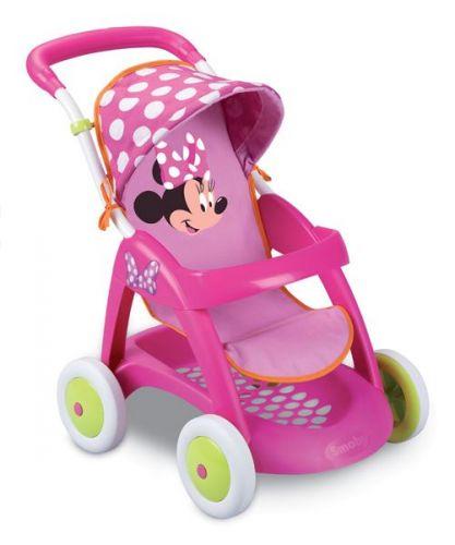 SMOBY Športový kočík pre bábiky so strieškou Minnie