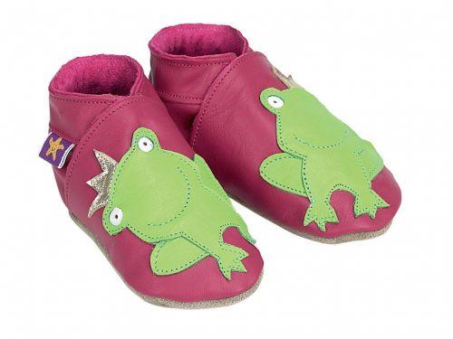 STARCHILD Fuchsia Frog topánky