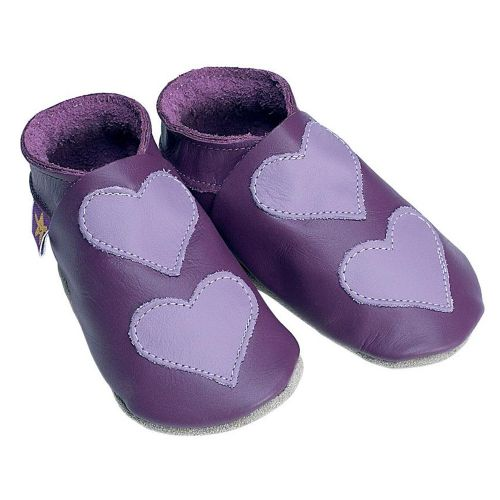 STARCHILD Lovehearts Grape topánky