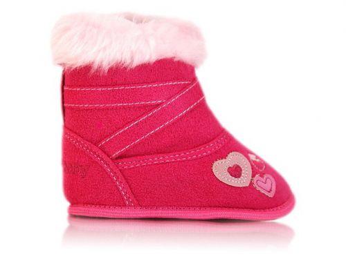 BOBAS tmavo-ružové topánky