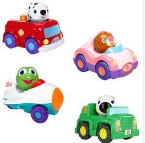 BRIGHT STARTS auto so zvieratkom