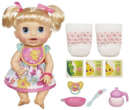 HASBRO Baby Alive bábika plná prekvapení