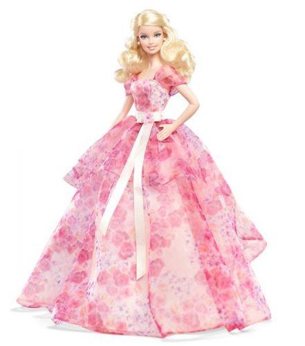 MATTEL Barbie Narodeninové Prianie