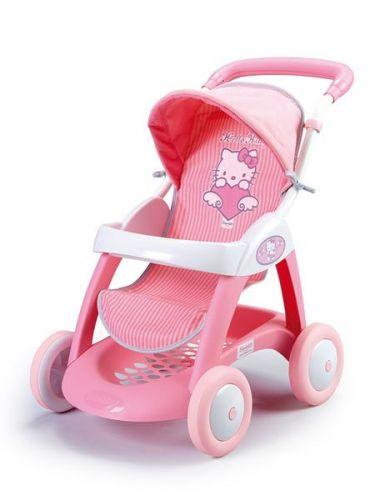 SMOBY Hello Kitty Chula pop kočík pre bábiky