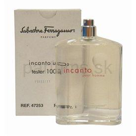 c9404aac7 Salvatore Ferragamo Incanto Pour Homme toaletná voda tester pre mužov 100  ml cena od 0,