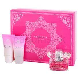 Versace Bright Crystal darčeková sada IV. toaletná voda 50 ml + telové mlieko 50 ml + sprchový gel 50 ml