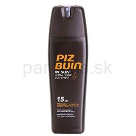Piz Buin In Sun sprej na opaľovanie bez obsahu oleja SPF 15 200 ml