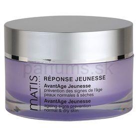 MATIS Paris Réponse Jeunesse denný protivráskový krém pre normálnu až suchú pleť (AvantAge Jeunesse Paraben Free) 50 ml