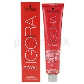 Schwarzkopf Professional IGORA Royal farba na vlasy odtieň 4-65 (Colorists´s Color Creme) 60 ml