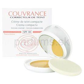 Avene Couvrance kompaktný make-up pre suchú pleť odtieň 01 Porcelain SPF 30 (Crème de teint compacte - Texture confort) 9,5 g cena od 0,00 €
