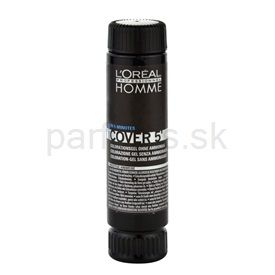 L'Oréal Professionnel Homme Color farba na vlasy 3 ks odtieň 5 Light Brown (Color Gel Ammoniak-free) 3x50 ml