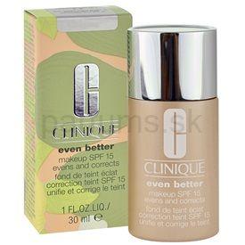Clinique Even Better Make-up tekutý make-up pre suchú a zmiešanú pleť odtieň 01 Alabaster SPF 15 30 ml