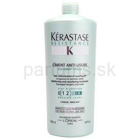 Kérastase Resistance kúra pre poškodené, chemicky ošetrené vlasy (Repairing Anti-Breakage Treatment) 1000 ml