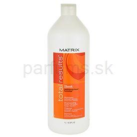 Matrix Total Results Sleek šampón pre nepoddajné a krepovité vlasy (Shampoo) 1000 ml