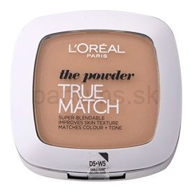 L'Oréal Paris True Match kompaktný púder odtieň W5 Honey Sand 9 g