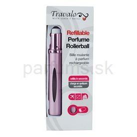 Travalo Touch Elegance plniteľný rollerball pre ženy 5 ml (Pink)