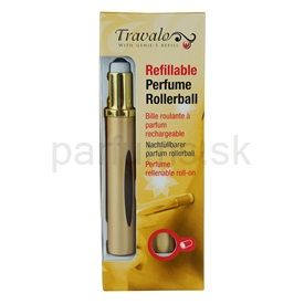 Travalo Touch Elegance plniteľný rollerball pre ženy 4,5 ml (Gold)
