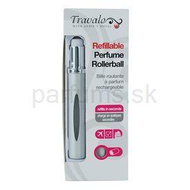 Travalo Touch Elegance plniteľný rollerball pre ženy 5 ml (Silver)