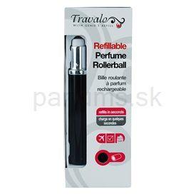 Travalo Touch Elegance plniteľný rollerball pre ženy 5 ml (Black)
